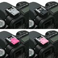 PCTC 5PCS Colorful Camera Hot Shoe Cover For fits all Samsung SLR and DSLR Cameras NX500 NX1 NX30