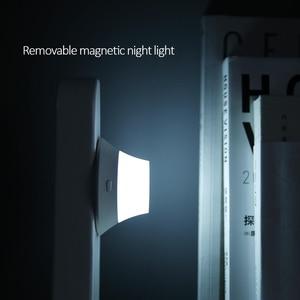 Image 4 - オリジナル mi Yeelight ワイヤレス充電器 Led ナイトライト磁気吸引のための急速充電 iphone サムスン Huawei 社シャオ mi