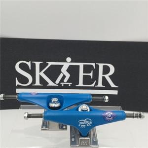 """Image 4 - Quality Skateboard Parts Middle Hollow Type Trucks Skateboard 5.0""""&5.25J"""" Different types Skate Trucks Aluminum Trucks De Skate"""