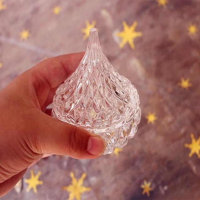 Gläser Aufbewahrungsboxen kleine glas zuckerdose nette mini schmuckschatulle glas