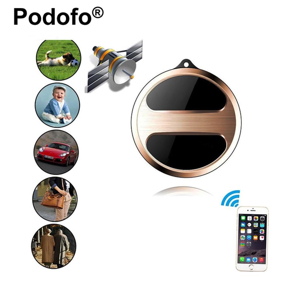 Podofo мини GPS Трекеры локатор для детей Дети Домашние животные Товары для кошек Товары для собак Автомобильные GPS-навигаторы с Google Карты SOS сигнал GSM GPRS трекер T8