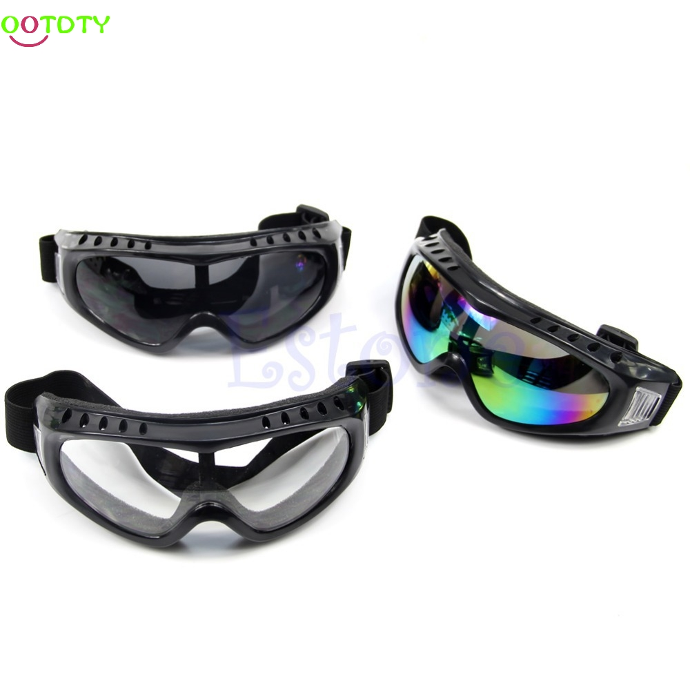 Coated Safety Skiing Goggles Outdoor Sport Dustproof Sunglass Eye Glasses