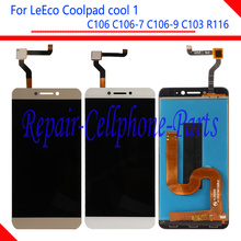 Продажа Новый Полный ЖК-дисплей дисплей + Сенсорный экран планшета Ассамблеи для LeTV LeEco Coolpad Cool1 Прохладный 1 C106 C106-7 C106-9 C103 R116