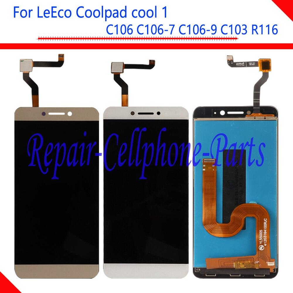 Nouveau LCD Full DIsplay + Écran Tactile Digitizer Assemblée Pour LeTV LeEco Coolpad Cool1 Cool 1 C106 C106-7 C106-9 C103 R116