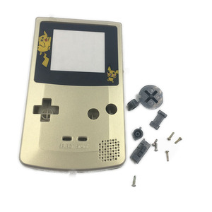 Image 2 - Oro Argento Per Nintendo GameBoy Color Cover di Ricambio Borsette Per GBC
