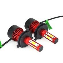 2PCS/set 8000LM car LED headlights H1 H4 H7 H8/H9/H11 9012 led light kit. Suitable for most models. 12V 24V