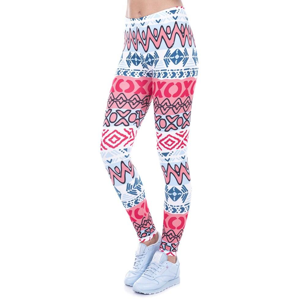 Fitness Leggings South Africa: New Style Women Leggings African Aztec 3D Print Causal
