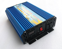 цена на Power Inverter 1000W 12V/24V/48V to 120V/220V 50HZ/60HZ Pure Sine Wave Inverter