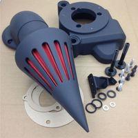 Motorcycle Spike Air Filter Intake Cleaner Kit for Harley Davidson Electra Glide Road King FLHR Street Glide Tri Glide