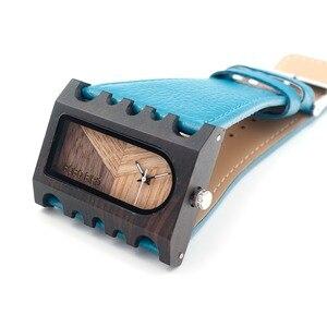 Image 4 - BOBO BIRD Fishbone นาฬิกากรณีกว้างสายนาฬิกาสุภาพสตรีคริสต์มาสของขวัญ Drop Shipping CUSTOM โลโก้ของคุณ