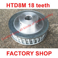 2pcs HTD 8M Timing Pulley 18 teeth Bore 12mm fit belt width 15mm for CNC machines laser machine engraving machine High quality