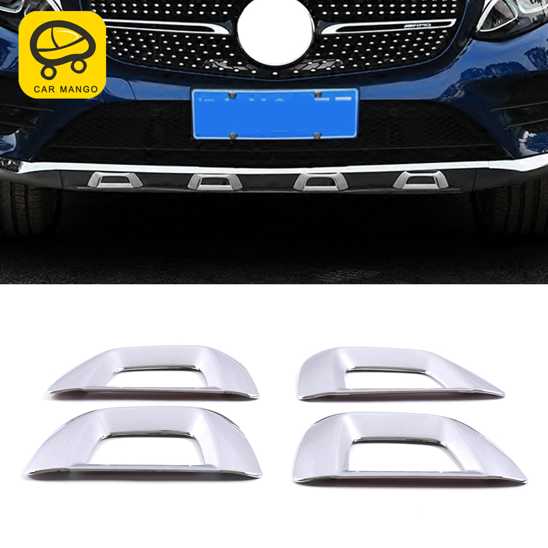 CarManGo For Mercedes Benz GLC coupe 2016 Car Styling Front Rear Fender Bumper Protector Mudguard Frame