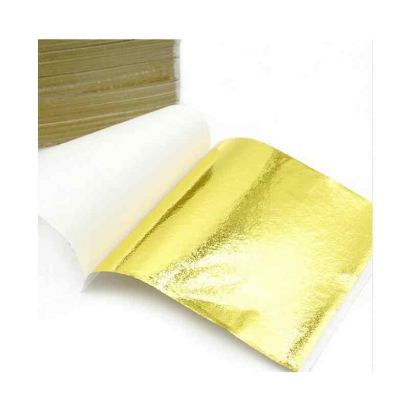 Folha de folha de papel decoração de unha, folha de folha de papel adesivo à mão, decoração diy, caixa de telefone, lantejoulas, artesanato, resina, joias, 100 peças pingente artesanato
