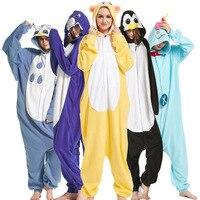 Flannel Cartoon Cosplay Animal Pajamas Adults Unicornio Pokemon Pajama Suit Women S Kigurumi Unicorn Men S