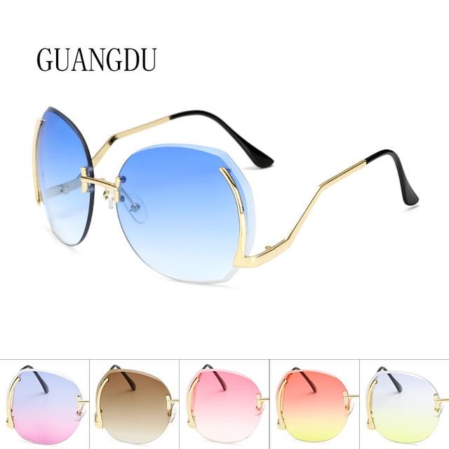 efa1e056f4c Rimless Sunglasses Women Glasses For Reading Prescription Glasses Men Women  Sunglasses 2018 Brand Designer Dropshipping