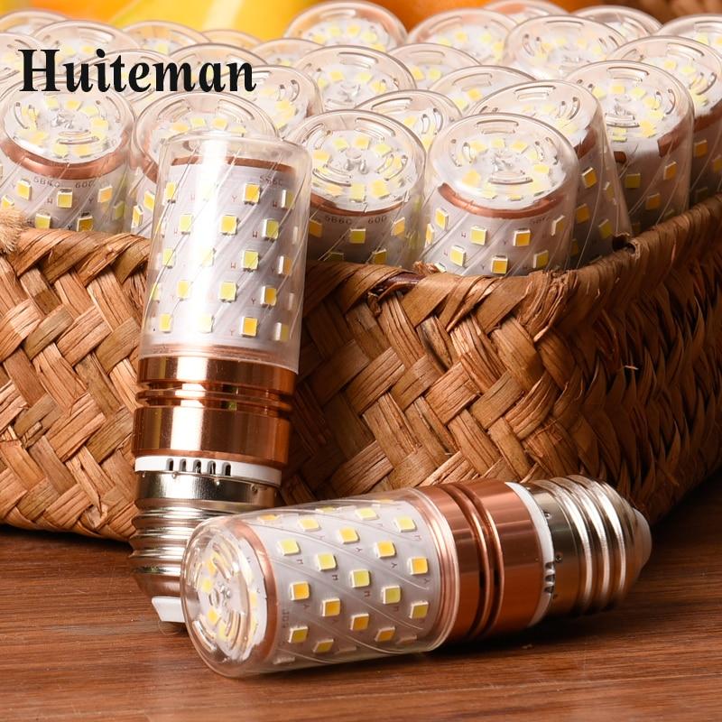 4pcs/lot LED Bulb Lamp E14 E27 5W 7W 220V LED Lampada High Brightness LED Light SMD 5730 Corn Bulb Chandelier For Home Lighting e27 5w 380lm 6000k 36 smd 5730 led white light corn bulb white translucent ac 220v