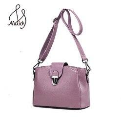 Mulheres de luxo a primeira camada couro bolsas embreagem crossbody sacos envelope satchel messenger lock aleta ombro maidy