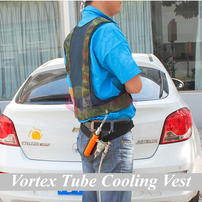 Best Welders Compressed Air Cool Waistcoat Vortex Tube Air Conditioning Vest