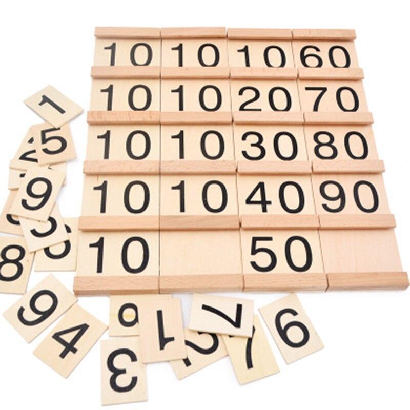 Монтессори высококачественной древесины Математика учебно-методических пособий дошкольного образования игрушка сеган математика учебны...