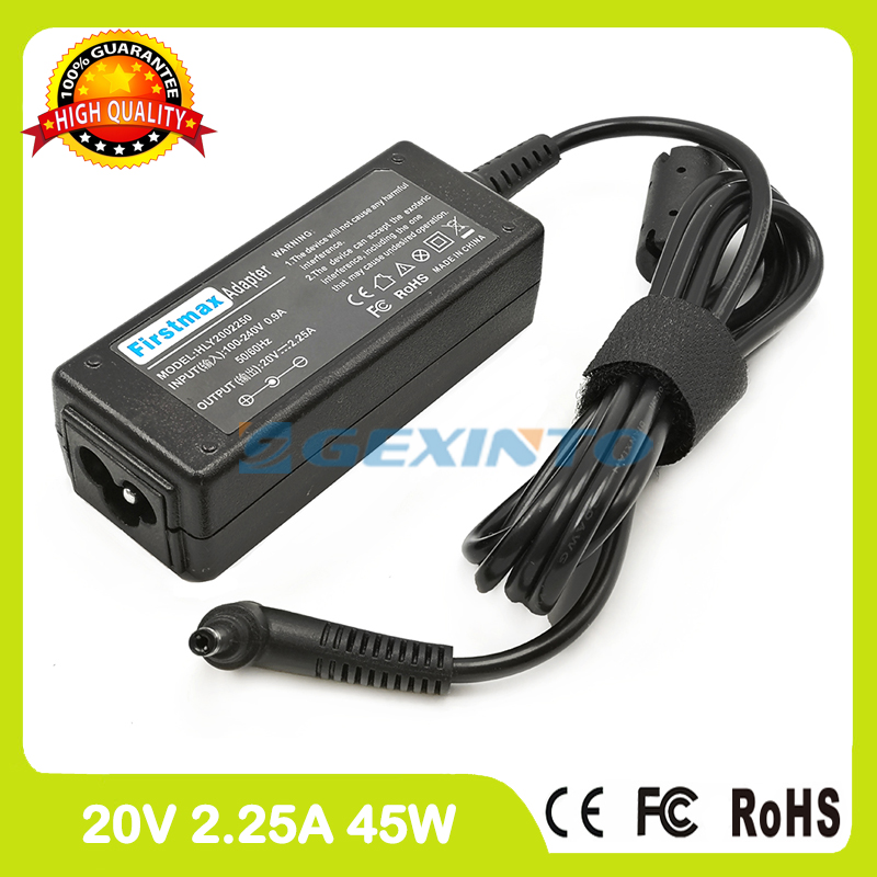 <font><b>20V</b></font> <font><b>2.25A</b></font> 45W <font><b>laptop</b></font> ac <font><b>power</b></font> adapter charger for <font><b>Lenovo</b></font> IdeaPad 100-14IBD 110-14IBR 110-15AST 110-17ACL 310-14ISK 310-15IAP image