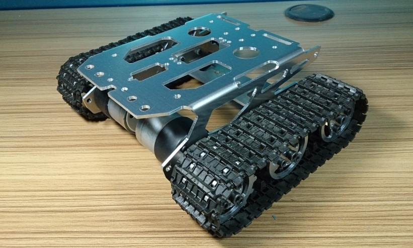 Tank car chassis/tracked car for remote control/robot parts for maker DIY/development kit diy tracked robot