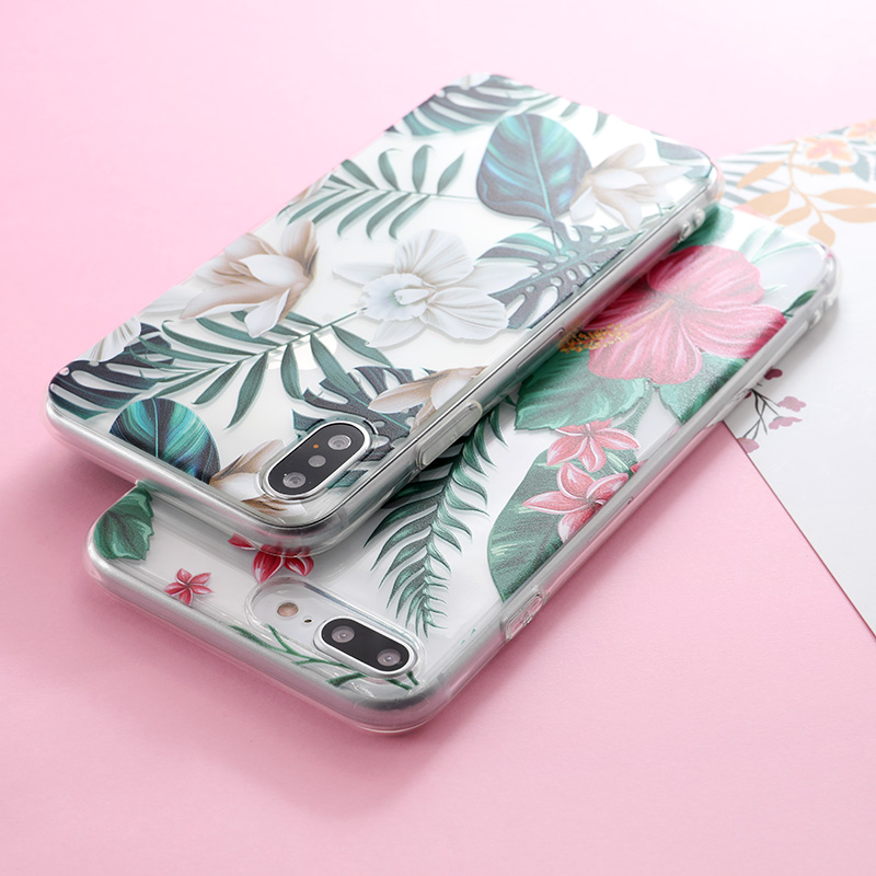 case for iphone Picture - More Detailed Picture about SoCouple Flower Floral Plants Leaves