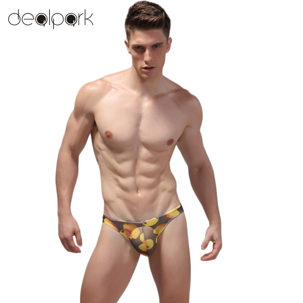 Teen boys in thongs