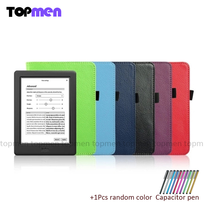 New cover for kobo aura h2o 2014 cover protective case for 6.8'' ereader(not fit kobo aura hd / kobo aura 6'')+free gift original new lcd screen ed068tg1 for kobo aura h2o kobo aura h20 with backlight reader e book lcd displayl free shipping