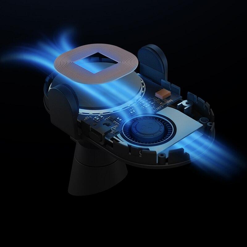 Chargeur de voiture sans fil Xiao mi Original 20 W Max pince automatique électrique 2.5D verre Qi chargeur rapide intelligent pour mi - 4