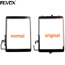 New Touch Screen Glass For iPad Air 1 For iPad 5 A1474 A1475 A147 Replacement With Adhesive and Home Button