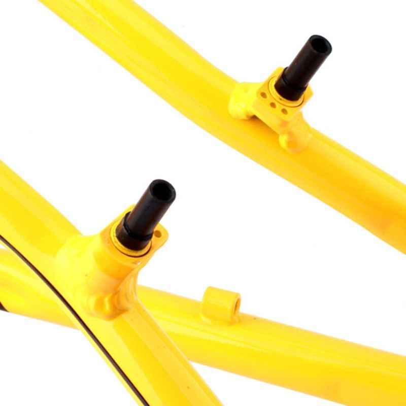 4 unidades/pacote Mountain Bike Freio Da Bicicleta V Coluna Parafuso M10 Garfo Dianteiro Quadro Braçadeira Com Travões Parafusos da Base