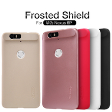 For Huawei Nexus 6P case for Nexus 6P Frosted Shield Nillkin phone cases for Huawei Nexus 6 cover + free protective film