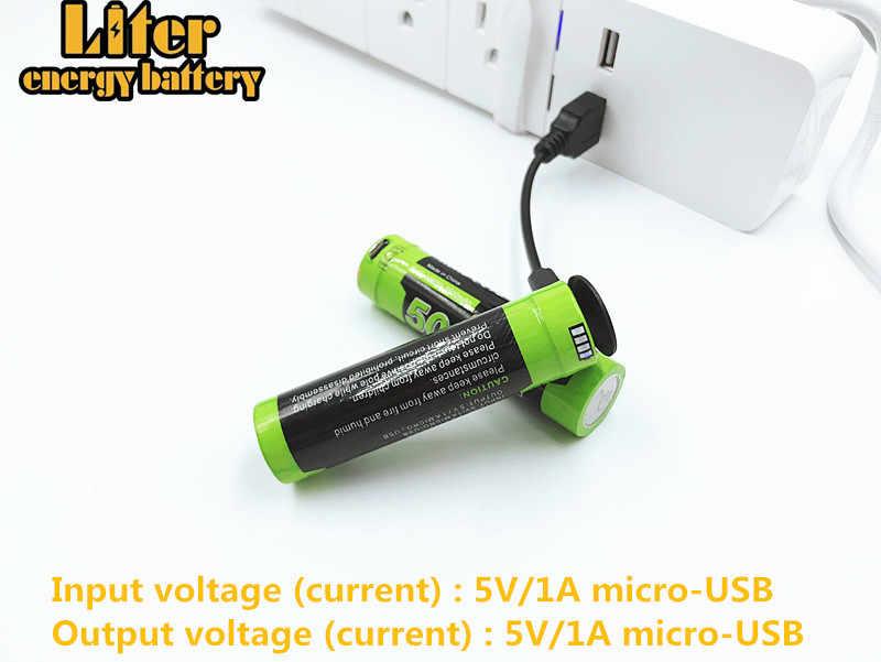 Bateria recarregável 5000 m mini 3.7 v 18650 3500 mah celular powerbank usb led carregador de bateria recarregável aaa