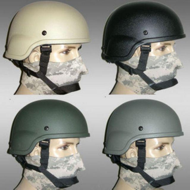 Tactical Helmet Motorcycle Helmet CSMICH2000 Black / Army