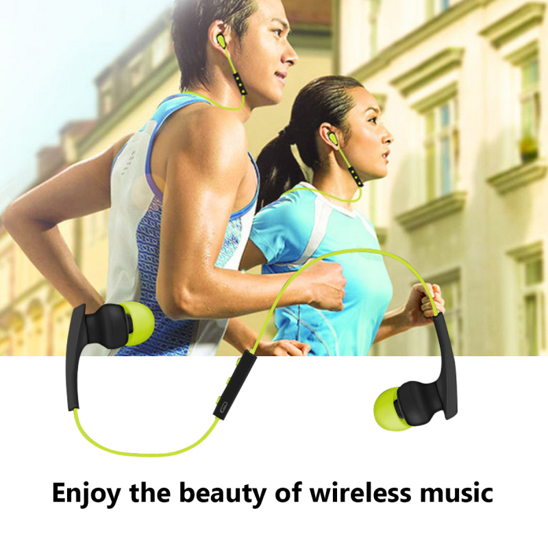 New Bluetooth Earphone Sport Running Wireless Headphone Mini V4.1 Stereo Bass Sweatproof Earbuds Headset For any Phone P10s100