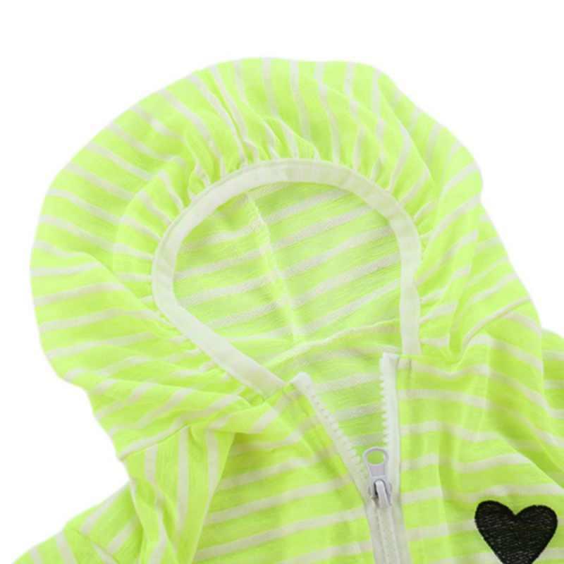 2018 אביב סתיו מעיל לילדים תינוק בנות בני בגדי מעיל ארוך שרוול פסים תינוק מעילים