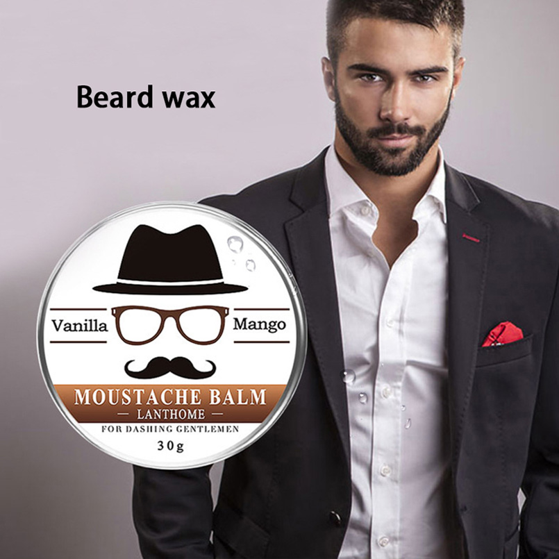 Lanthome Beard Growth Oil Thicker Essence 10ml Hair Fast Grow Products for Chest Bread Wax Mustache Treatment Serum For Men