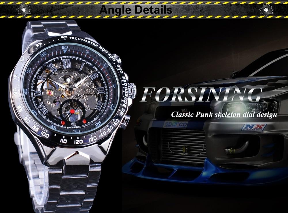 HTB1E0fXX3oQMeJjy0Foq6AShVXaD Forsining Transparent Case Open Work Silver Stainless Steel Mechanical Skeleton Sport Wrist Watch Men Top Brand Luxury Men Clock