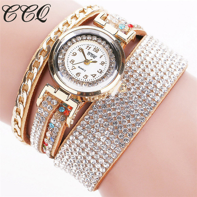 2019 Women Watches Leather New Arrival Hot Brand Vintage Leather Bracelet Watch