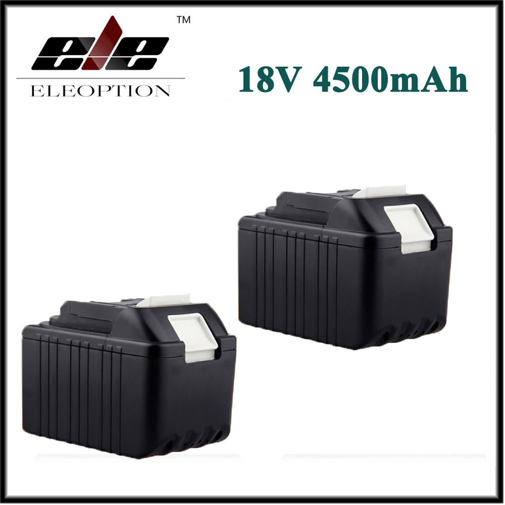 2x 4000mAh New Rechargeable Li-Ion Replacement Power Tool Battery for Makita 18V BL1830 BL1840 LXT400 BL1815 194230-4 194205-3 2 x panku 4 0ah 18v lithium ion replacement battery for makita cordless 18 volt bl1815 bl1840 bl1830