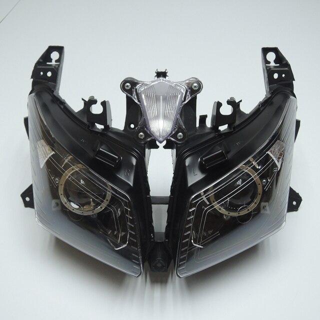 TMAX 530 2012 2013 2014 Front Headlight Head Light  Headlamp For Yamaha T-MAX530 TMAX530 2012 2013 2014 Clear
