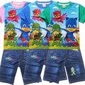 2016 niños de la manera del verano pone en cortocircuito sistemas todo bebé niña ropa para niños pequeños trajes de chándal fabricantes de ropa de china