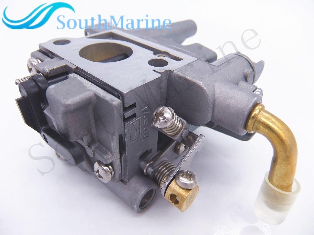 Outboard Motors 69M 14301 00 Carburetor Assy for Yamaha 4 stroke 2 6hp F2 6 69M
