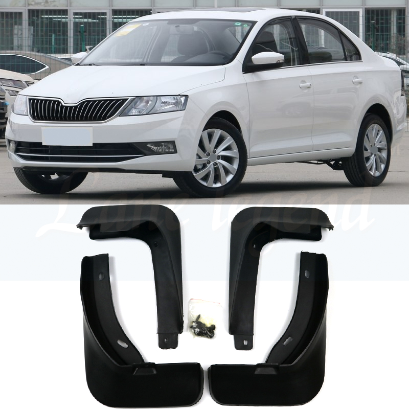 Mud Flaps Flares Splash-Guards Auto-Mudguards-Fender Rapid Skoda Front for Car Rear 4pcs title=