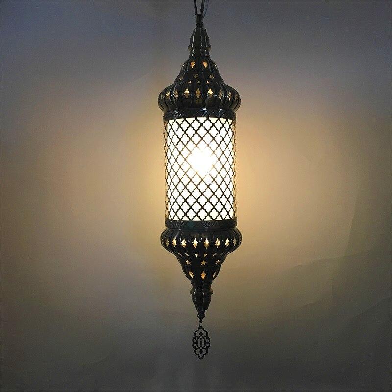 Новейший stytle Турции этнические обычаи ручной работы мозаичный светильник романтическая Кафе Ресторан Бар дерево кулон свет подвесной свет