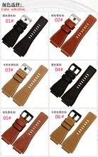 Laopijiang Мужчин и женщин кожаный ремешок аксессуары телячьей кожи браслет 34×24 мм