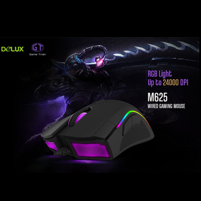 Fortnite Backlight Gaming Mouse  4