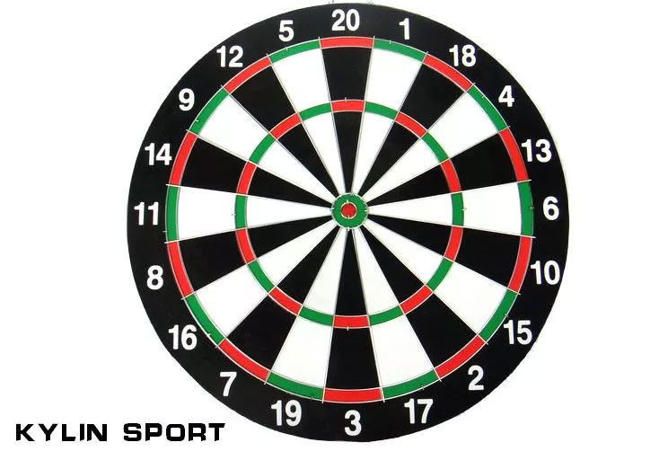 ФОТО set dart board special offer authentic 18 inch double side thickening darts plate of the dart
