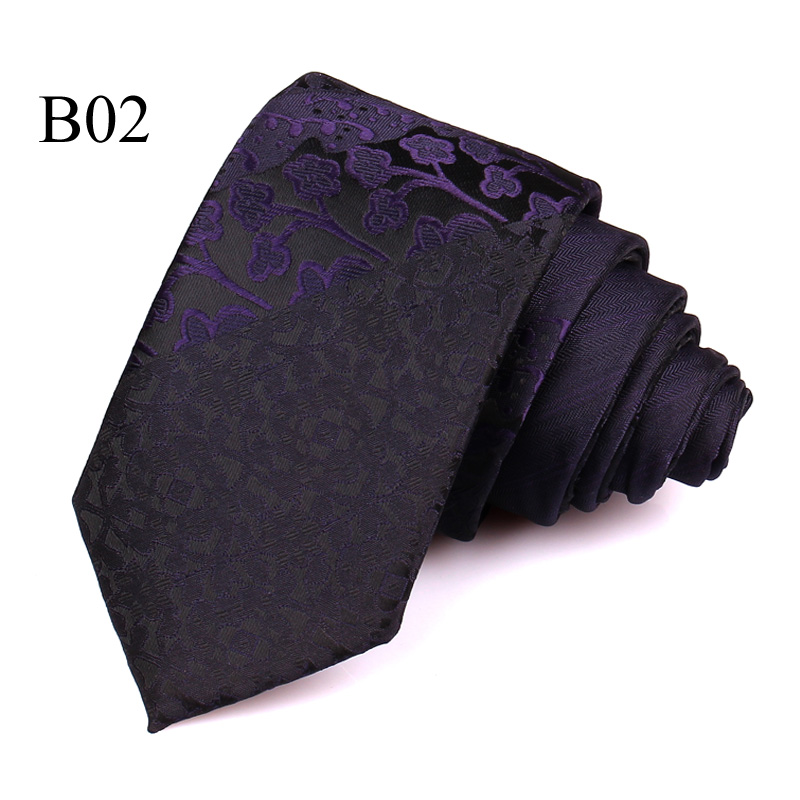 New Jacquard Woven Neck Tie For Males Traditional Examine Ties Trend Polyester Mens Necktie For Wedding ceremony Enterprise Swimsuit Plaid Tie HTB1E0hSecj B1NjSZFHq6yDWpXaw