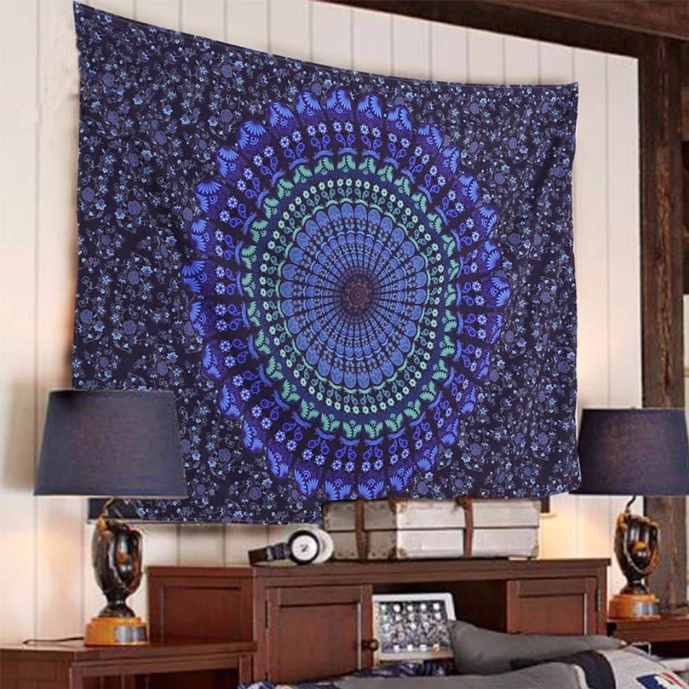 Deken Mat Tapestry Kwasten Flamingo Summerbohemian Rechthoek Hippie Tapestry Strand Gooi Roundie Handdoek Yoga Mat My417